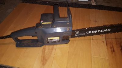 Craftsman electric chainsaw