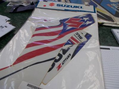 Buy SUZUKI 'USA' GRAPHICS KIT motorcycle in Lebanon, Missouri, United States