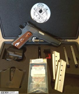 For Sale: Springfield Range Officer 9mm