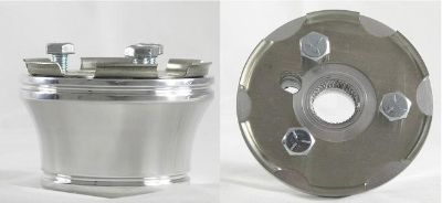 Sell CLUB CAR STEERING WHEEL ADAPTER (3 Hole) BILLET ALUMINUM ~Fits 84 & Up Carts~ motorcycle in Hanover, Indiana, US, for US $44.95