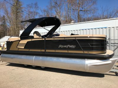 2018 Aqua Patio AP235SBC TriToon ARCH Pontoon Boats Coloma, MI