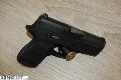 For Sale: Sig Sauer P320 Sub Compact 9mm used(unfired)(ICN7603)