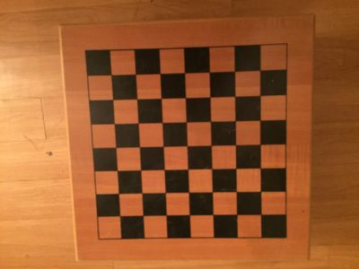 Wooden Checker Board/ Chess board/ 3 in one games