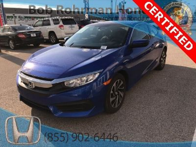 2016 Honda Civic LX (Aegean Blue Metallic)