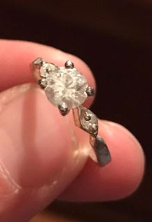 Dainty .925 ring sz 6 3/4