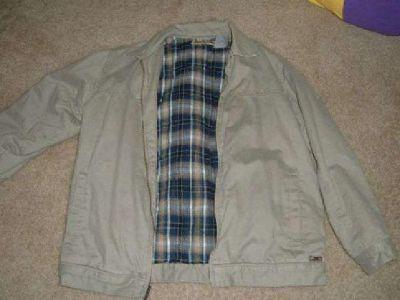 $10 Quicksilver Jacket Boys L (caldwel)