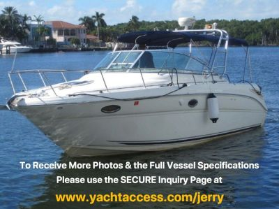 2004, 29' SEA RAY 290 AMBERJACK For Sale