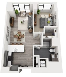 $7680 1 apartment in South End