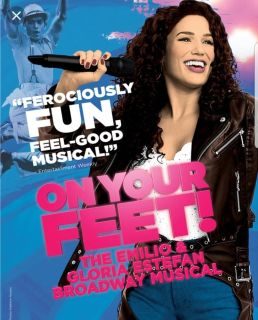 "2 tickets to ""On Your Feet"" about Gloria Estefan - Tuesday night"