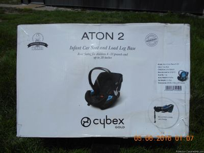 Cybex Gold Aton 2 Infant Car Seat in True Blue