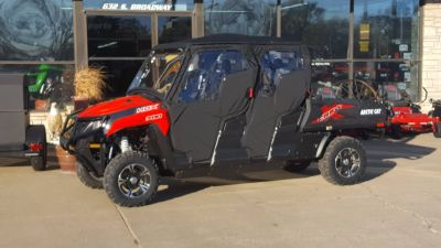 2017 Arctic Cat HDX 700 Crew XT Side x Side Utility Vehicles South Hutchinson, KS