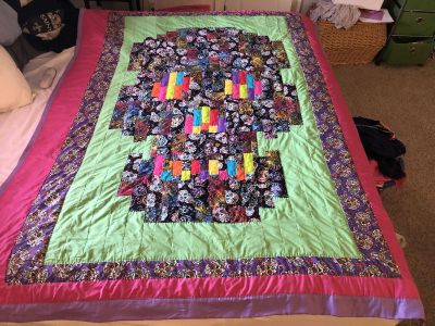 Custom Hand quilted blankets.