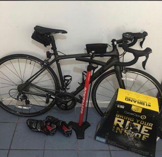 2017 Carbon Edmonda road bike