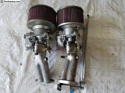 Dual Kadron Carbs H40/44EIS
