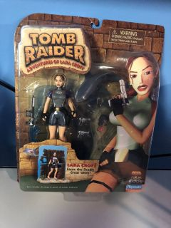 Tomb Raider Adventures Of Lara Croft Action Figure (1999) (2000)