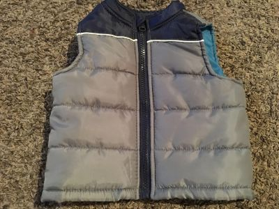Like New Baby Healthtex Quilted Vest Size 6-9 months.