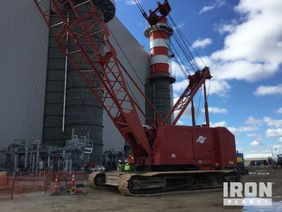 1975 Manitowoc 4100W Vicon Series 1 & 2 Lattice-Boom Crawler Crane