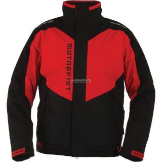 Purchase 2017 Motorfist Clutch Jacket-Black/Red motorcycle in Sauk Centre, Minnesota, United States, for US $299.99