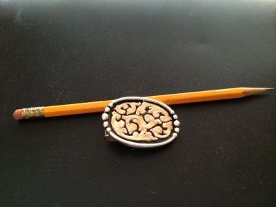 Silver Money Clip - small, custom made