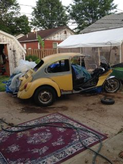 VW trike project