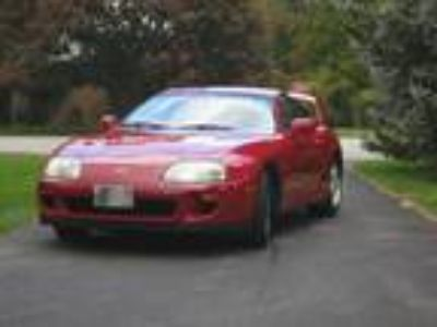 1995 Toyota Supra with 5-speed manual transmission!
