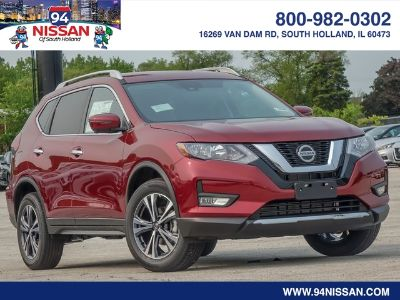 2019 Nissan Rogue S (Scarlet)