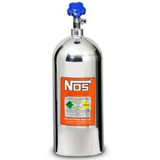 Sell NOS 14745-P Nitrous Bottle 10 lb. Polished w/ High Flow Valve motorcycle in Suitland, Maryland, United States, for US $347.95