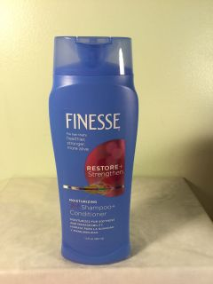 Finesse restore and strengthen moisturizing two in one shampoo and conditioner