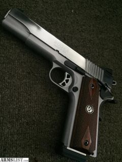 For Sale/Trade: Ruger Sr1911 .45 stainless