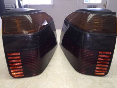 Rear L and R Tail Light Lens and Housing for 1999 VW Cabrio