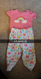 3-6 month outfit