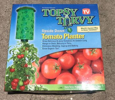 TOPSY TURVY. Tomato planter. Pick up Lomita 90717