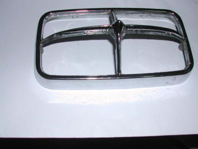 Sell 1974 74 Pontiac GTO turn sighnal chrome bezel motorcycle in Sugar Grove, Illinois, US, for US $35.95