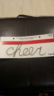 Wired cheer decor. New in package