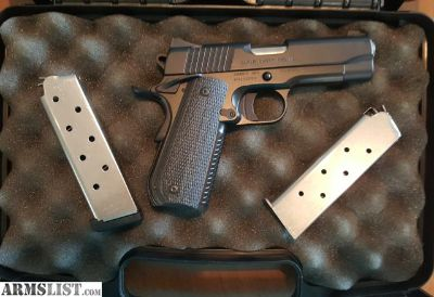 For Sale/Trade: Kimber Custom Shop super carry pro hd 1911, 45 caliber. 2 magazines. Night sights. Excellent condition