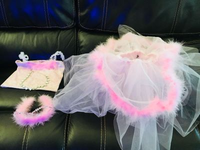 Gorgeous girls dress up set in like new condition