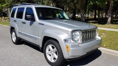 2010 Jeep Liberty Limited (Silver Or Aluminum)