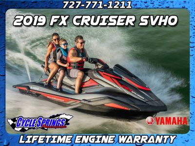 2019 Yamaha FX CRUISER SVHO **FREE LIFETIME WARRANTY AND ACCESSORIES** PWCs Clearwater, FL