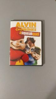 DVD - ALVIN AND THE CHIPMUNKS - THE SQUEAKQUEL
