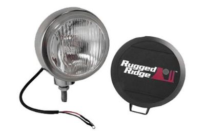 Find Rugged Ridge 15206.02 - Off Road Stainless Steel HID Fog Light motorcycle in Suwanee, Georgia, US, for US $153.31