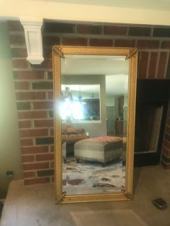 Vintage Ethan Allen Mirror beautiful! Measures 41 1/2 x 21 1-2