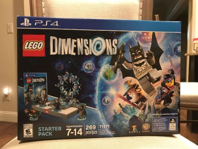 New unopened LEGO Dimensions Starter Pack for PS4