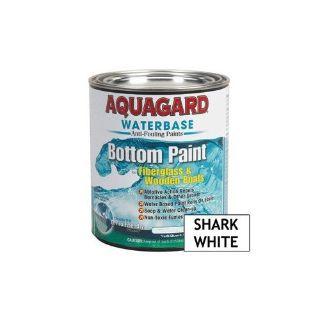 Buy Aquagard Waterbase Antifouling Bottom Paint Fiberglass/Wood Boats Shark White Qt motorcycle in Millsboro, Delaware, United States, for US $32.99