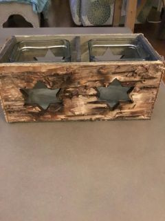 Rustic Candle Box