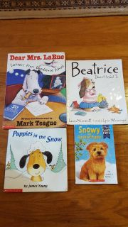 Books - puppies and dogs