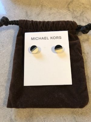 Michael Kors studded earings