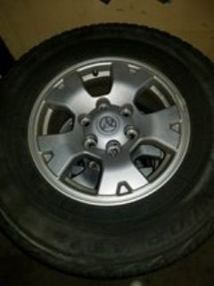 Toyota Tacoma Factory Rims, Tires Inculded