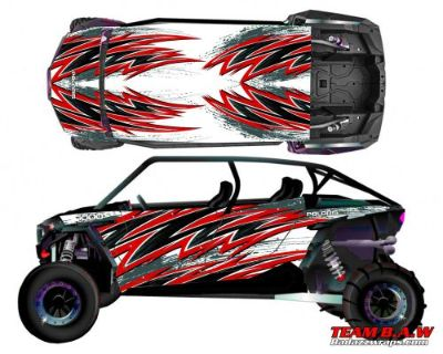 Buy Polaris 4 RZR 1000 xp Design MXVEC 016 Decal Graphic Kit Wraps UTV Turbo Scoop motorcycle in Ogden, Utah, United States, for US $449.99