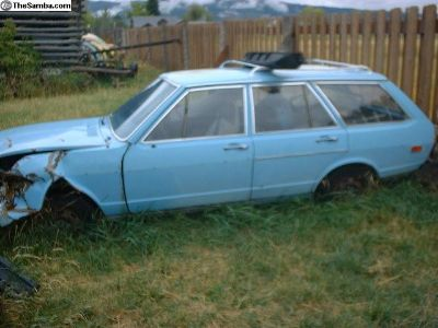 1975 Dasher wagon now as PARTS