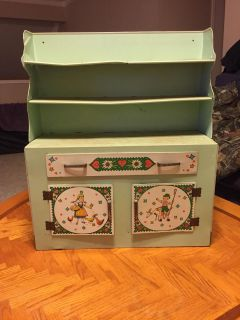 Antique Toy Hutch and Kitchen